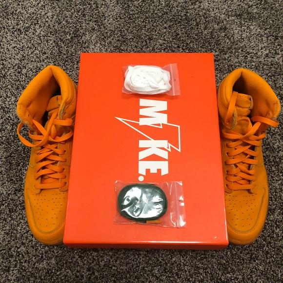 low priced 31002 2f5cd Air Force 1 Gatorade Orange Size 9.5